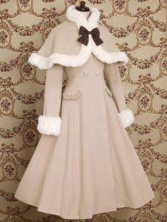 Mary Magdalene - Victoire Long Coat (Framboise, Sugar Rose, Milk Tea, Milk Chocolate, Black)