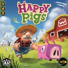 This game pretty much proved that I am no pig farmer. Lots of good micro-gaming going on with a farming theme.  3.5 stars!