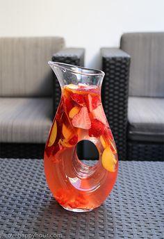 The best Rosé Sangria recipe you'll ever make!