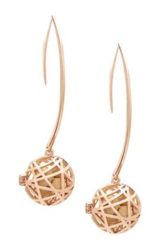 Nest Earrings - Rose Gold This is NEW and UNIQUE, It's Fragrance Jewelry,  Check it Out!!!