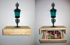 Floating Shelf With Secret Compartment by stephenjacklyn — via Instructables Secret Hiding Places, Hiding Spots, Hidden Places, Secret Storage, Hidden Storage, Secret Compartment Furniture, Stash Spots, Welcome Signs Front Door, Bookcase Door