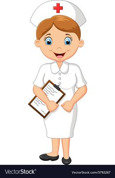 Cartoon smiling nurse holding clipboard vector image on VectorStock Eagle Cartoon, Pirate Cartoon, Nurse Cartoon, Cartoon Bat, Zombie Cartoon, Happy Cartoon, Cartoon Kids, Cute Panda Cartoon, Petite Section