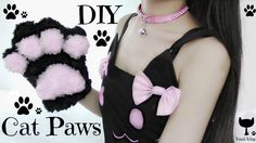 DIY Cat Paws | Fluffy Paws | Meow Meow