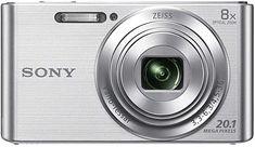 Sony DSC-W 830 S Kompaktkamera silber Digitalkamera & Camcorder Toy Camera, Camera Case, Best Camera, Camera Lens, Canon Kamera, Nikon, Appareil Photo Reflex, Sony Digital Camera, Carte Sd