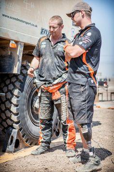 Race2Recovery Team Dakar 2014