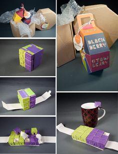 Petra Blahova tea packaging PD