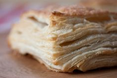 """""""How to make vegan puff pastry"""" -- (basically the same but with vegan source of fat)"""