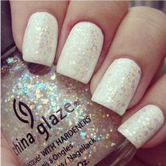 Snow White Nails.