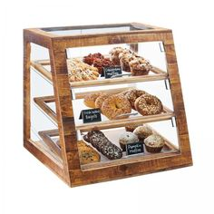 """Cal-Mil 3432-99 Madera Bakery Display Case, 3-tier, full-service, 21""""W x 21-1/2""""D x 21-1/"""