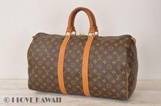Louis Vuitton Monogram Keepall 45 Malletier Travel Bag M41428