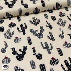 10€ Cactus - loneta - fondo crudo