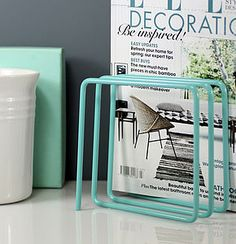 Magazine Rack, Blue