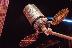Cygnus Cargo Spacecraft at Sunrise Follow @GalaxyCase if you love Image of the day by NASA #imageoftheday