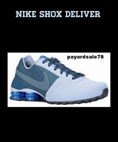 6614a191667 Men s size 8.5 nike shox deliver sneaker shoe new 100% autentic nib 317547  018