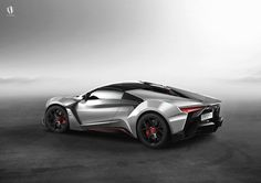 The 900-hp Fenyr Supersport debuted at this week's Dubai Motor Show