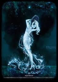 Aquarius by Heylenne on DeviantArt Aquarius Art, Aquarius Tattoo, Age Of Aquarius, Capricorn And Aquarius, Art Zodiaque, Signes D'air, Aquarius Aesthetic, Zodiac Characters, Dark Pictures
