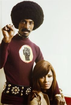 Twixnmix: Ike and Tina Turner photographed by Tony Frank, Tony Frank, Frank Frank, Hip Hop Images, Afro, Bae, Ike And Tina Turner, Vintage Black Glamour, Black Actors, Music Images