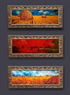 Ritók Lajos Oilpainting, Landscapes, Tájkép, Olajfestmény