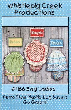 """Whistlepig Creek Productions Sewing Pattern """"Bog Ladies""""  to go Green! by CarlasHope on Etsy"""
