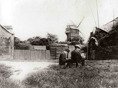 Montmartre, rue Girardon 1904