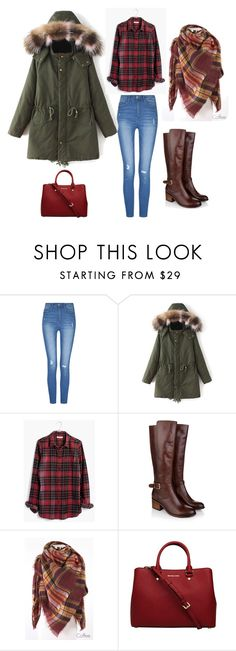 """""""X-mas 16"""" by rebeca-frausto on Polyvore featuring Madewell, Monsoon y MICHAEL Michael Kors"""