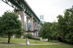 Portland Wedding Photographers - Cathedral Park | Blog