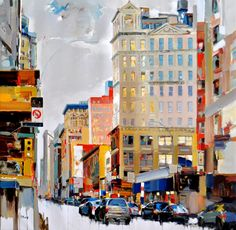 Colourful, energetic paintings of country, sea and cityscapes by Josef Kote | Creative Boom