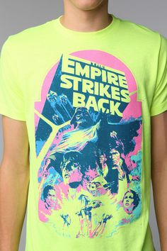 The Empire Strikes Back Tee   @Lynette Young needs to get her shirt ready! #onemilliondollowers #starwars