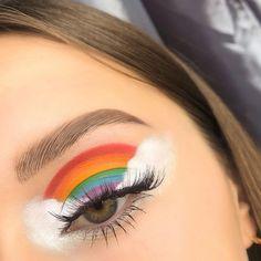 Crazy Eye Makeup, Cute Eye Makeup, Face Paint Makeup, Halloween Eye Makeup, Edgy Makeup, Makeup Eye Looks, Creative Makeup Looks, Colorful Eye Makeup, Eye Makeup Art
