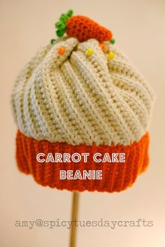 Here it is, friends! I was asked to write up my version of a Cupcake Beanie. A few years ago I came across a bootleg internet copy of a s...