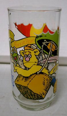 The Great Muppet Caper Vintage Character Glass McDonalds 1981 Promo Mint | eBay