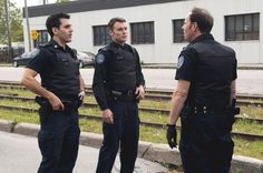 Still of Ben Bass and Peter Mooney in Rookie Blue