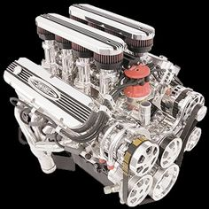 Roush Engine 427IR 5.8L 9.5 Deck Dart 4-Bolt