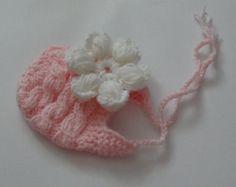 Sombrero de los cabritos bebé niña recién nacido de por Ifonka