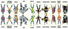 Marvel Villains Character Sheet 181