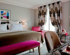 L' Hôtel Burgundy, miroir de la modernité | Magasin Deco