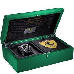 Limited Edition Ferrari Paddock Chronograph Green