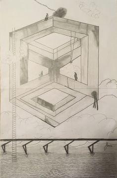 What Floor Pencil Sketch