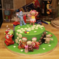 Mossys masterpiece In The Night Garden Cake with the Ninky Nonk