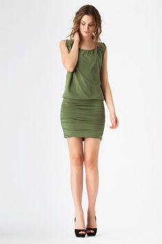 STARR    Stretch Jersey sleeveless dress