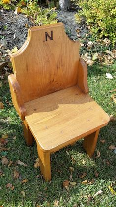 This is a cute little chair - perfect for someone whose name begins with N. Now in our #collingwood store