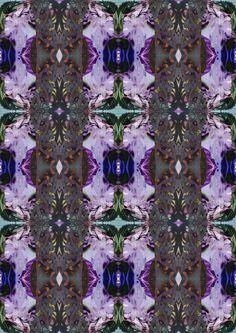 Digital - Multi-media - photo-shop. Intricate, detailed pattern, visual art, complexity, marbled glaze-like effect.