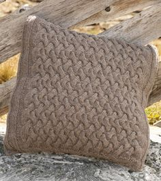 Knitting pattern CopyThis gorgeous pattern is knitted in Aran wool. No Aran cable cushion cover. cushion 19 x 19 and uses 400 grams aran wool, you also need circular needle and the pattern works from a diagram. Diy Pillows, Throw Pillows, Cable Knitting Patterns, Knitted Cushions, Drops Design, Merino Wool Blanket, Knit Crochet, Pillow Covers, Diy And Crafts