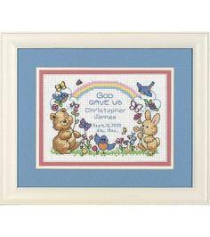 Bucilla Mini Counted Cross Stitch Kit-God's Babies at Joann.com