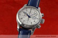 Fortis B-42 Chronograph Stahl Automatik Kal. ETA 7750 Ref. 635.10.141  | 152270