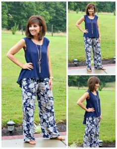 I'm ending my 26 Days of Summer Fashion with the wide leg pant trend. When I first saw them, I wasn't sure how I felt but since I have been wearing them, I am now a fan. ‪#‎graceandbeautystyle‬ ‪#‎summerfashion‬ ‪#‎widelegpant‬ #ootd #style
