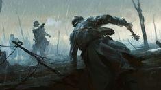 Battlefield 1: trapela in rete una ricca galleria di bozzetti preparatori