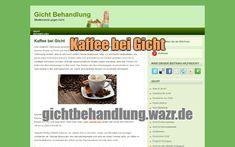 Kaffee bei Gicht - Lebensmittel / Ernährung Coffee, Foods, Drinking