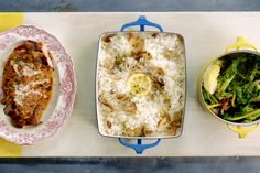 In this episodeChef Jamie Oliver's menu includes pork Marsala, porcini rice, and spring greens. Plus, koh samui salad, chili tofu, and Thai noodles.
