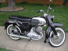 My 64 Honda Benly 150. Check out parts for this and hundreds of classic motorcycles at Classic City Cycles on Ebay! Best prices! Best Service!!